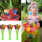 111PCS Balloons Minute 3 Packs Magic Balloons Water Bunch Already Tied Kids Toy