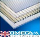 4mm & 10mm Polycarbonate Roofing & Glazing Sheets, Clear, Twinwall, 2m Lengths