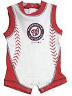 Infant Washington Nationals Romper MLB Genuine Baseball Baby 1-piece Creeper