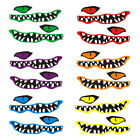 2pcs Kayak/ Canoe River Monster Mouth Color Decal 6 Colors to Choose from