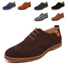 Fashion Men's Leather Oxford Shoes Casual Lace Up Formal Dress Flats Derbys
