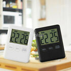 Newest Slim Magnetic LCD Digital Kitchen Timer Count Up Down Egg Cooking Alarm