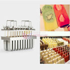 NEW Stainless Steel Ice Pop Molds Ice Lolly Popsicle Ice Cream Bars Stick Holder