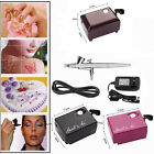 US SP16 Beauty Special Air Brush Compressor Suit Spray Gun Make Up AirBrush Set