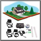 Underground Electric Dog Fence System 1/2/3 Water Resistant Shock Collars New