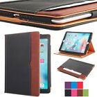 Smart Soft Leather Stand Folio Wallet Case Cover for All Apple iPad Pro Models