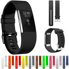 12 Colors Soft Sport Silicone Wrist Watch Bands For Fitbit Charge 2 Tracker 2017