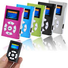 USB Mini MP3 Player LCD Screen Support 32GB Micro SD TF Card Portable Music US