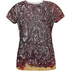 Halloween Jelly PB Costume All Over Womens T Shirt