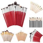 12/20pcs Pro Makeup Brushes Set Powder Foundation Eyeshadow Eyeliner Lip Brush