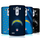 OFFICIAL NFL 2017/18 LOS ANGELES CHARGERS HARD BACK CASE FOR LG PHONES 1