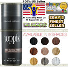 Toppik Hair Building Fibers 27.5g BLACK DARK MEDIUM LIGHT BROWN BLONDE WHITE New