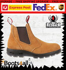New Redback Work Boots USBBA Easy Escape Steel Toe BANANA UK SIZE WTH BOX