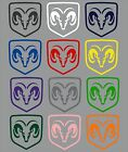 Dodge Ram Truck Shield Logo Decal Many Colors, Many Sizes, Free Shipping $3.0 USD on eBay