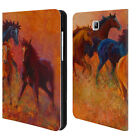OFFICIAL MARION ROSE HORSE LEATHER BOOK WALLET CASE FOR SAMSUNG GALAXY TABLETS