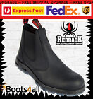 Redback Work  Boots Black Non Steel Toe Easy Escape UBBK UK SIZE WITH BOX