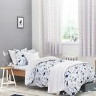 Kids Bianca 100% Cotton Soft Space Print Blue Duvet Quilt Cover Set
