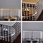 """CAKE STAND 16"""" wide Square Crystal Pendants Wedding Party Home Decorations SALE"""