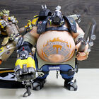 New Overwatch Roadhog Junkrat PVC Action Figure 3D Statues Figurines Toy Gift