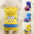 Clothing Shoes - Small Pet Dog Clothes Winter Warm Costume Apparel Puppy Cat Sweater Hoodie Coat