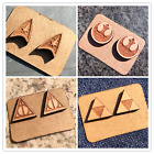 Wooden Earrings Star Trek The Legend of Zelda Deathly Hallows Rebel Alliance on eBay