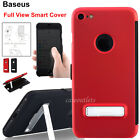 [Smart Cover Full View] Magnetic Leather Flip Kickstand Case For iPhone 7/7 Plus