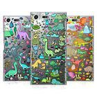 HEAD CASE DESIGNS PREHISTORIC PATTERNS HARD BACK CASE FOR SONY XPERIA XZ PREMIUM