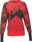 FLY Racing Crew Womens Pullover Rose/Red/Black