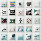 Bohemian Geometry Polyester Pillow Case Cover Waist Cushion Cover Home Decor