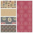 ***CLEARANCE*** FABRIC LEWIS & IRENE THREADED WITH LOVE -  COLOUR RANGE 3