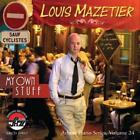 LOUIS MAZETIER - MY OWN STUFF USED - VERY GOOD CD