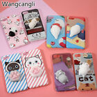 Squishy 3D Soft Silicone Cat Panda Phone Case Cover for iPhone 6 6S Plus 7 Plus
