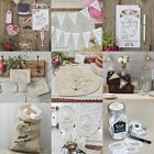 Vintage Affair Hessian Wedding Decorations Party Supplies Country Boho