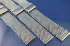 Dive Divers Stainless Steel Shark Mesh Watch Strap Bracelet 10-24mm 4 Tag Heuer