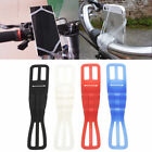 Universal Smart Phone Mount Holder Silicon Band Fit Bicycle Motorcycle Bike GPS
