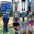 Usa Stock Women Stretchy Print Leggings Skinny Leggings Pencil Pants Trousers