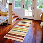 RUNNER RUGS CARPET RUNNERS AREA RUG RUNNERS HALLWAY RUG COLORFUL RUG~MADE IN USA
