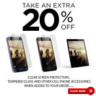 Premium Clear Screen Protectors or Tempered Glass for Samsung Galaxy S8