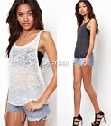 Sexy Women Fashion Summer Vest Top Sleeveless Blouse Casual Tank Tops T-Shirt C5