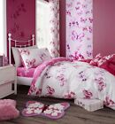 Catherine Lansfield Kids Children's Butterfly Duvet Cover Bedroom Range