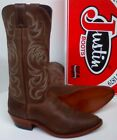 """Justin Tyler Cowhide Cowboy Boots 13"""" - Western Collection - Made in USA - J4156"""
