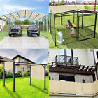 12' FT Waterproof Straight Side Hemmed Sun Shade Sail Canopy Awning Patio Cover