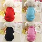 Pet Dog Clothing Warm Hoodie for Autumn Winter Dog Apparel 4 Colors Outdoor