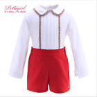 new clothes baby set outfits kids xmas girl bodysuit santa christmas boy fashion