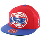 "Mitchell & Ness Los Angeles Clippers ""FS01"" Fitted Hat (Red/Royal) Men's NBA Cap"