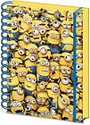 "NEW Despicable Me SR71862 ""Many Minions"" 3D Lenticular Cover A5 Notebook"