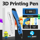 LED 3D Printing Draw Pen Crafting Modeling ABS/PCL/PLA Filament Art Printer Tool