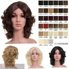NEW CURLY MEDIUM LENGTH FULL HEAD WIG PARTY SYNTHETIC HAIR TINA