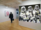 Original Street Art Star Wars Storm Troopers print canvas poster by  Andy Baker $44.99 AUD