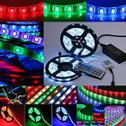 1-30m RGB strip 5050 SMD waterproof LED Light Strip Flexible 44keys Remote power